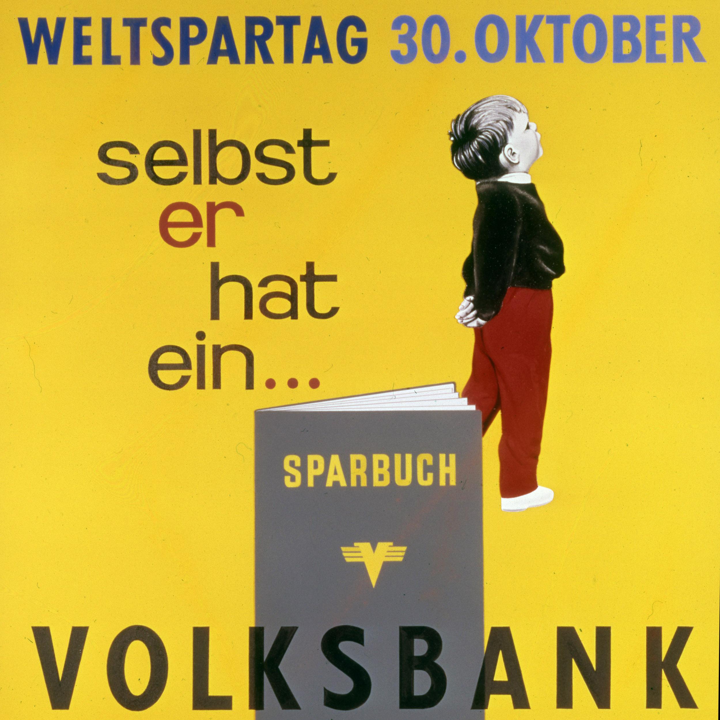 Historisches Werbe-Plakat
