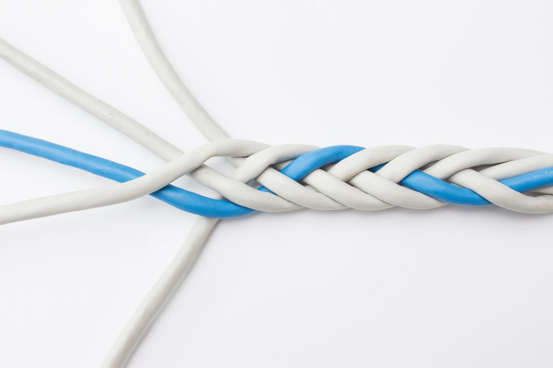 Kabel-Verflechtung