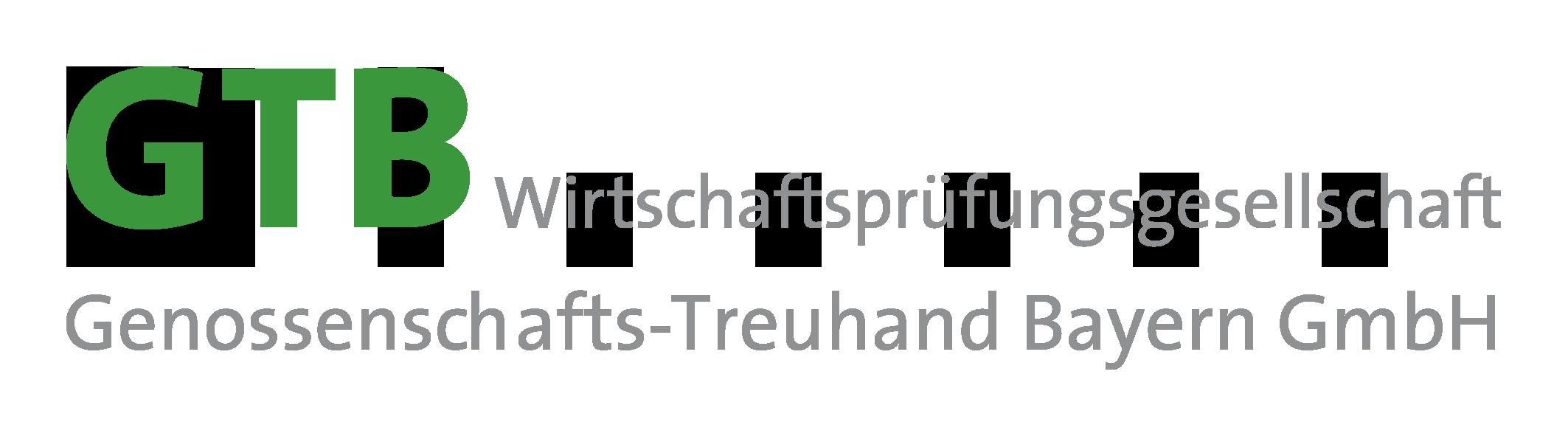 GTB Wirtschaftsprüfungsgesellschaft - Genossenschafts-Treuhand Bayern GmbH Logo